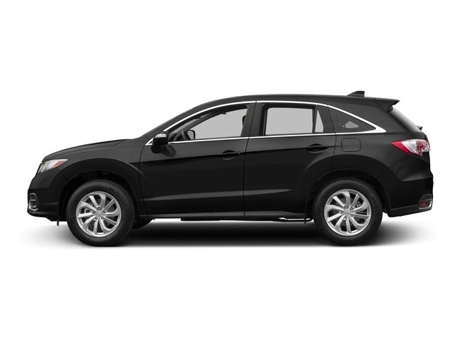 Crystal Black Pearl 2017 Acura RDX Pictures RDX Utility 4D Technology 2WD V6 photos side view