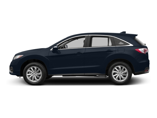 Fathom Blue Pearl 2017 Acura RDX Pictures RDX Utility 4D Technology 2WD V6 photos side view