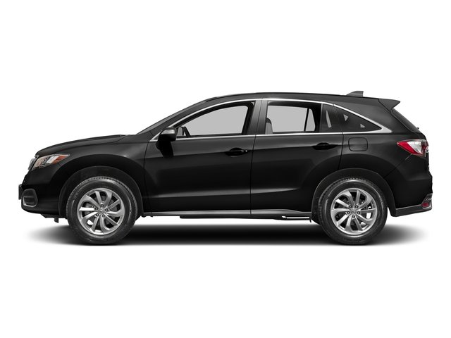 Crystal Black Pearl 2017 Acura RDX Pictures RDX FWD photos side view