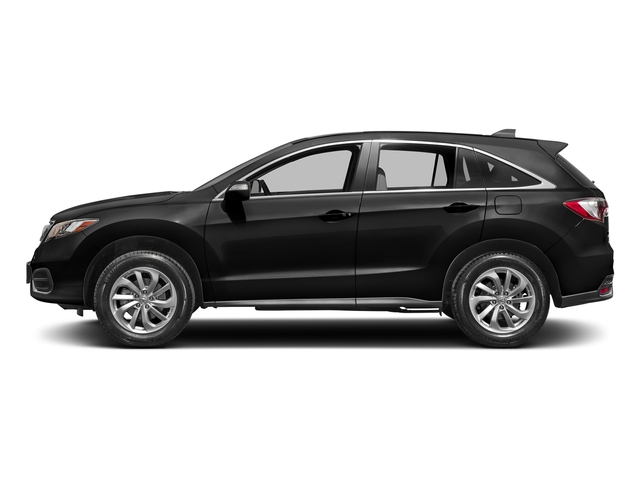 Crystal Black Pearl 2017 Acura RDX Pictures RDX Utility 4D 2WD V6 photos side view