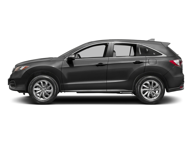 Modern Steel Metallic 2017 Acura RDX Pictures RDX Utility 4D 2WD V6 photos side view