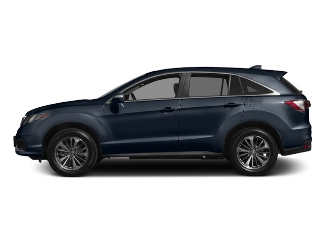 Fathom Blue Pearl 2017 Acura RDX Pictures RDX Utility 4D Advance AWD V6 photos side view