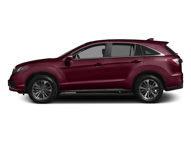 Basque Red Pearl II 2017 Acura RDX Pictures RDX Utility 4D Advance AWD V6 photos side view