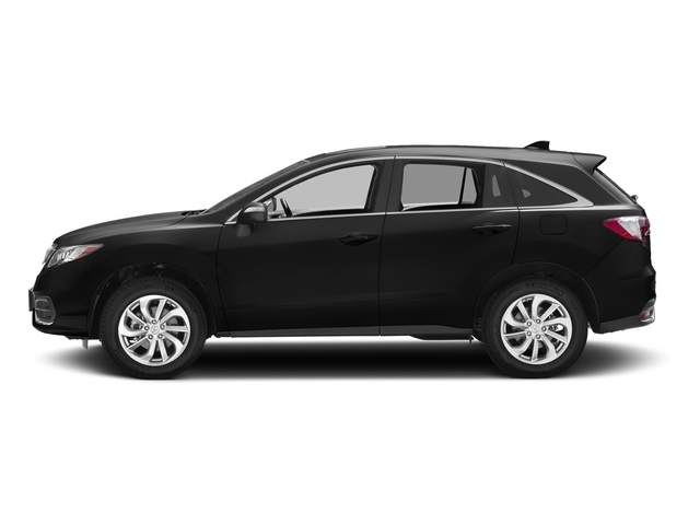 Crystal Black Pearl 2017 Acura RDX Pictures RDX AWD w/AcuraWatch Plus photos side view