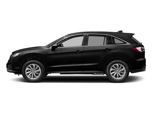 Crystal Black Pearl 2017 Acura RDX Pictures RDX FWD w/Technology/AcuraWatch Plus Pkg photos side view