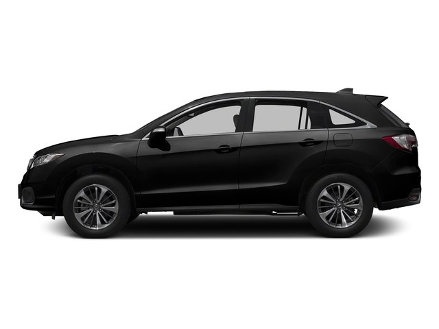 Crystal Black Pearl 2017 Acura RDX Pictures RDX Utility 4D Advance 2WD V6 photos side view