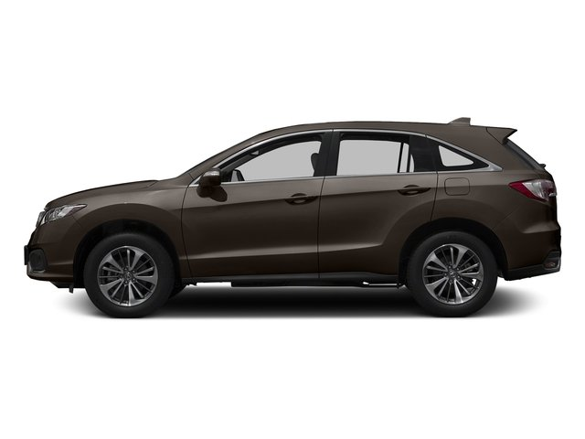 Kona Coffee Metallic 2017 Acura RDX Pictures RDX Utility 4D Advance 2WD V6 photos side view
