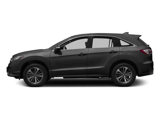 Modern Steel Metallic 2017 Acura RDX Pictures RDX FWD w/Advance Pkg photos side view
