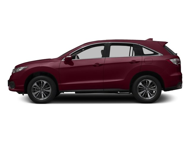 Basque Red Pearl II 2017 Acura RDX Pictures RDX Utility 4D Advance 2WD V6 photos side view