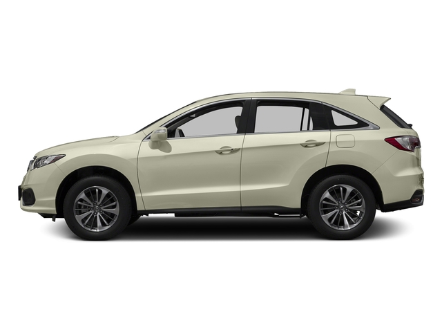 White Diamond Pearl 2017 Acura RDX Pictures RDX Utility 4D Advance 2WD V6 photos side view