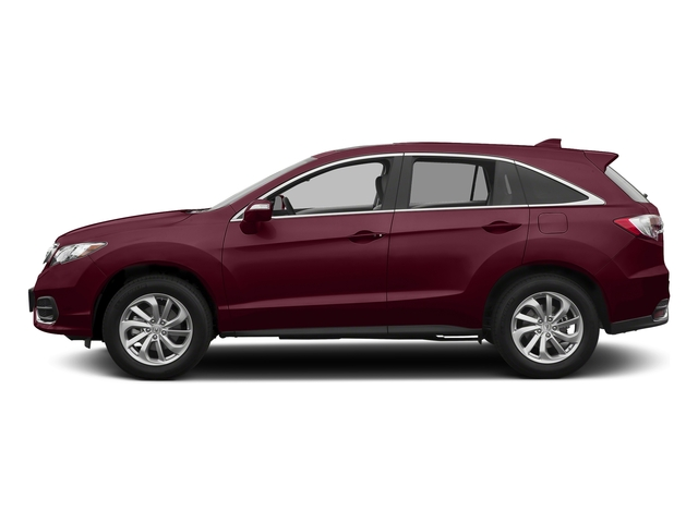 Basque Red Pearl II 2017 Acura RDX Pictures RDX FWD w/AcuraWatch Plus photos side view