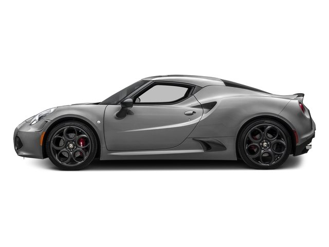 Basalt Gray Metallic 2017 Alfa Romeo 4C Coupe Pictures 4C Coupe photos side view