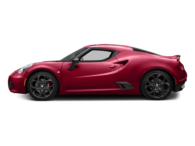 Rosso Alfa 2017 Alfa Romeo 4C Coupe Pictures 4C Coupe photos side view