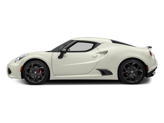Madreperla White Tri-Coat 2017 Alfa Romeo 4C Coupe Pictures 4C Coupe photos side view