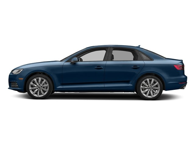 Scuba Blue Metallic 2017 Audi A4 Pictures A4 Sedan 4D 2.0T Premium AWD photos side view