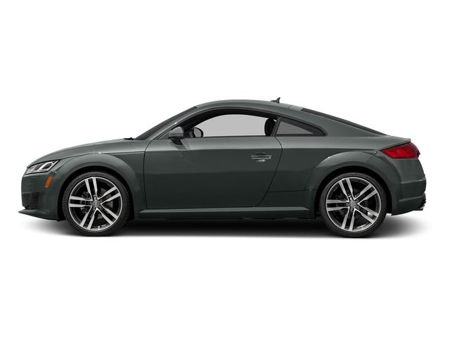 Monsoon Gray Metallic 2017 Audi TT Coupe Pictures TT Coupe 2D AWD photos side view