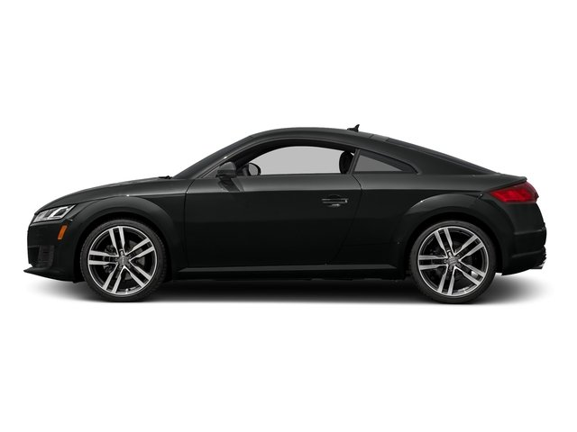 Mythos Black Metallic 2017 Audi TT Coupe Pictures TT Coupe 2D AWD photos side view