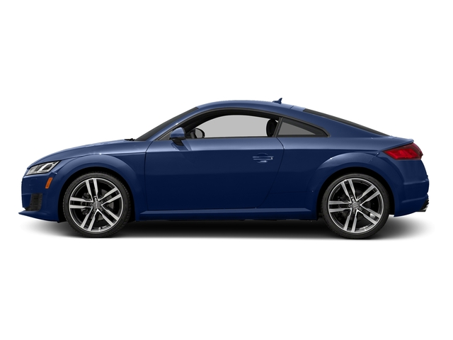 Scuba Blue Metallic 2017 Audi TT Coupe Pictures TT Coupe 2D AWD photos side view