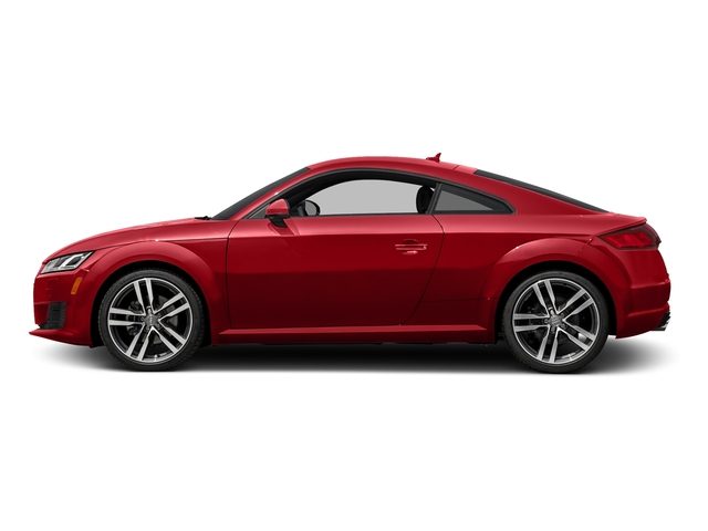 Tango Red Metallic 2017 Audi TT Coupe Pictures TT Coupe 2D AWD photos side view
