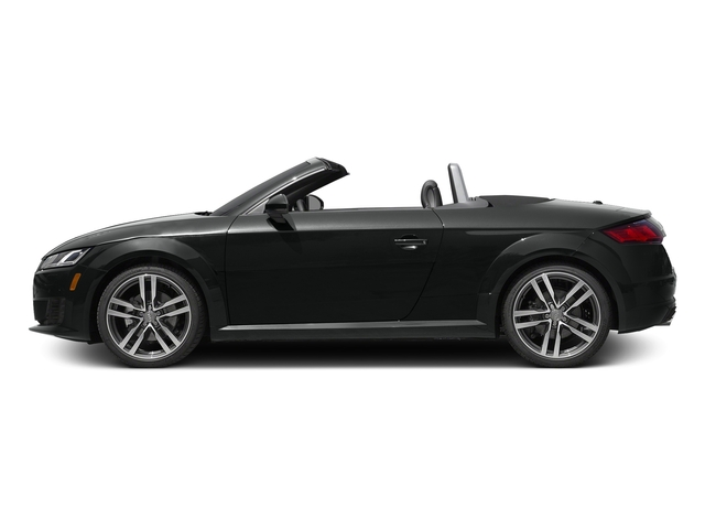 Mythos Black Metallic/Black Roof 2017 Audi TT Roadster Pictures TT Roadster 2.0 TFSI photos side view