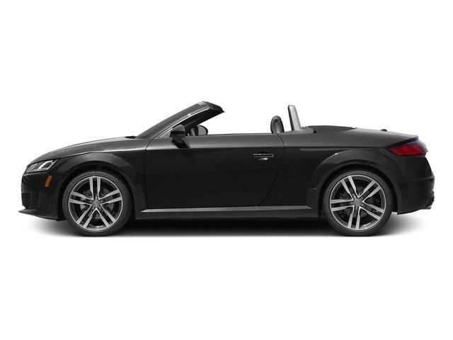 Brilliant Black/Black Roof 2017 Audi TT Roadster Pictures TT Roadster 2.0 TFSI photos side view