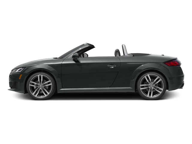 Nano Gray Metallic/Black Roof 2017 Audi TT Roadster Pictures TT Roadster 2.0 TFSI photos side view