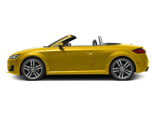 Vegas Yellow/Black Roof 2017 Audi TT Roadster Pictures TT Roadster 2.0 TFSI photos side view