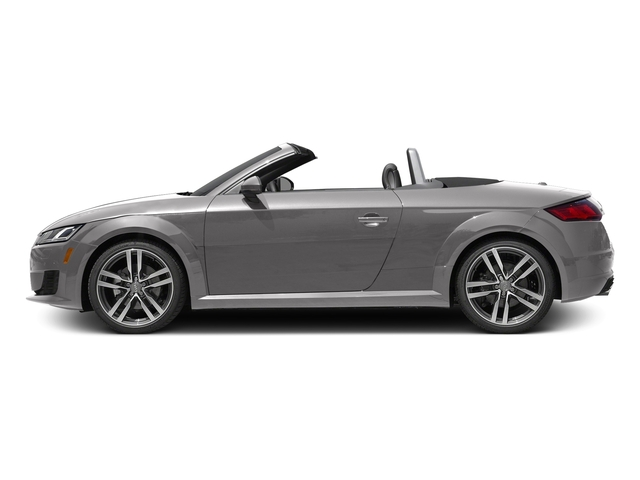 Florett Silver Metallic/Black Roof 2017 Audi TT Roadster Pictures TT Roadster 2.0 TFSI photos side view