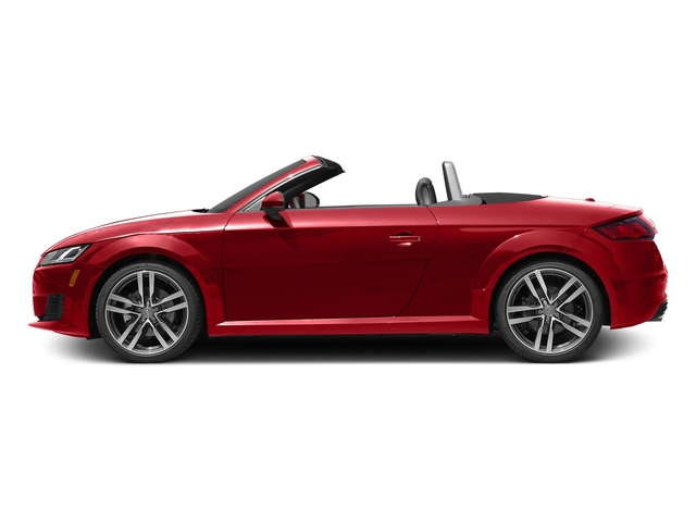 Tango Red Metallic/Black Roof 2017 Audi TT Roadster Pictures TT Roadster 2.0 TFSI photos side view