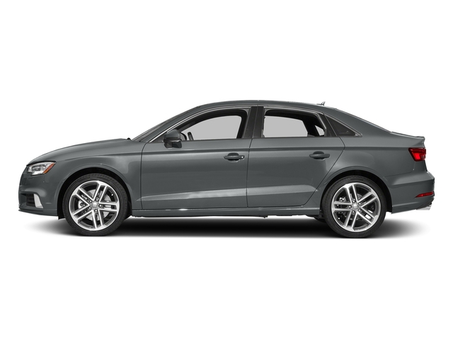 Monsoon Gray Metallic 2017 Audi A3 Sedan Pictures A3 Sedan 2.0 TFSI Prestige quattro AWD photos side view