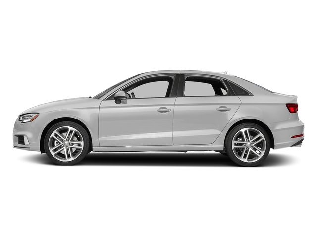 Glacier White Metallic 2017 Audi A3 Sedan Pictures A3 Sedan 2.0 TFSI Prestige quattro AWD photos side view