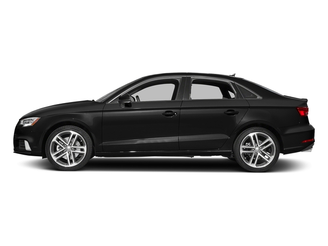 Brilliant Black 2017 Audi A3 Sedan Pictures A3 Sedan 2.0 TFSI Prestige quattro AWD photos side view