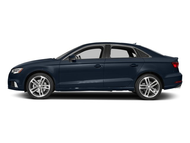 Cosmos Blue Metallic 2017 Audi A3 Sedan Pictures A3 Sedan 2.0 TFSI Prestige quattro AWD photos side view