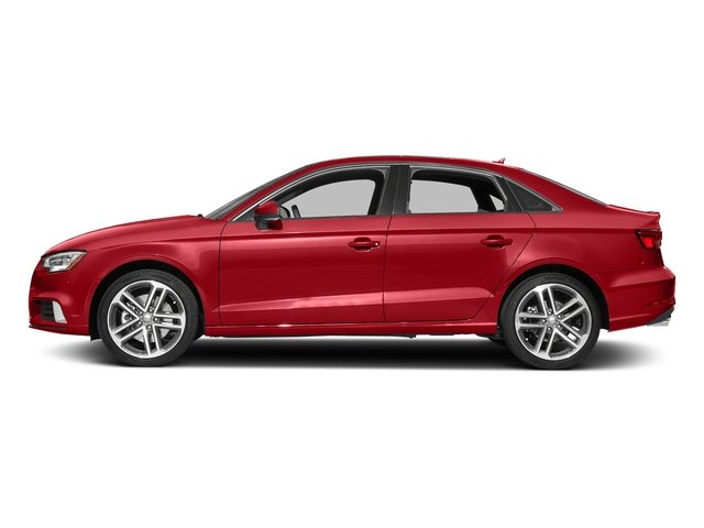 Tango Red Metallic 2017 Audi A3 Sedan Pictures A3 Sedan 2.0 TFSI Prestige quattro AWD photos side view