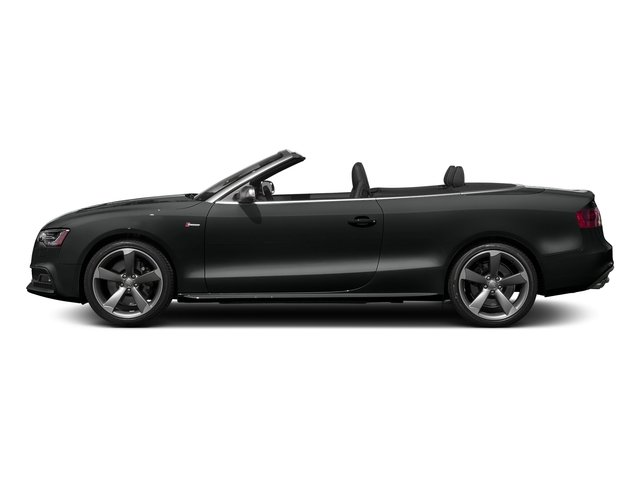 Mythos Black Metallic/Black Roof 2017 Audi S5 Cabriolet Pictures S5 Cabriolet Convertible 2D S5 Premium Plus AWD photos side view