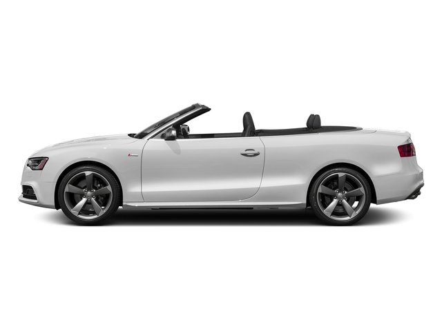 Glacier White Metallic/Black Roof 2017 Audi S5 Cabriolet Pictures S5 Cabriolet Convertible 2D S5 Premium Plus AWD photos side view