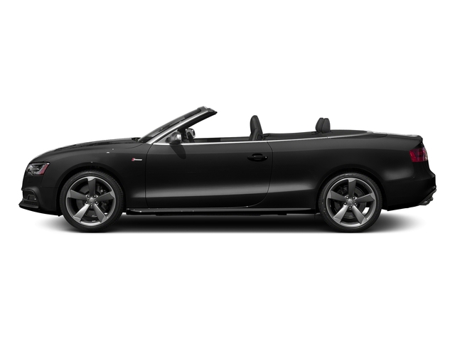 Brilliant Black/Black Roof 2017 Audi S5 Cabriolet Pictures S5 Cabriolet Convertible 2D S5 Premium Plus AWD photos side view