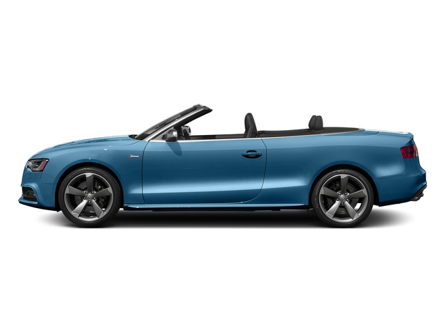 Sepang Blue Pearl Effect/Black Roof 2017 Audi S5 Cabriolet Pictures S5 Cabriolet Convertible 2D S5 Premium Plus AWD photos side view