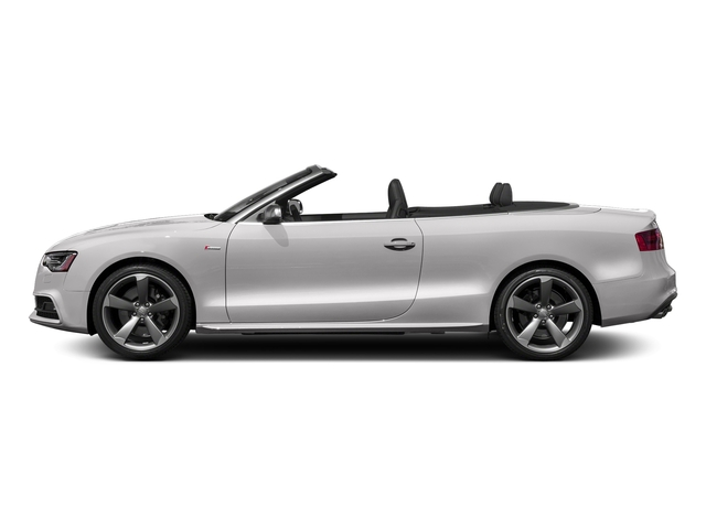 Florett Silver Metallic/Black Roof 2017 Audi S5 Cabriolet Pictures S5 Cabriolet Convertible 2D S5 Premium Plus AWD photos side view