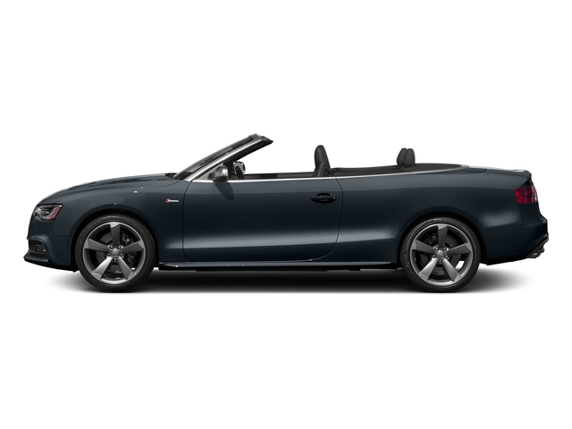 Moonlight Blue Metallic/Black Roof 2017 Audi S5 Cabriolet Pictures S5 Cabriolet Convertible 2D S5 Premium Plus AWD photos side view