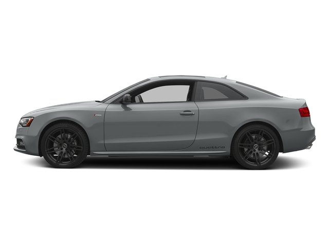Monsoon Gray Metallic 2017 Audi S5 Coupe Pictures S5 Coupe 3.0 TFSI S Tronic photos side view