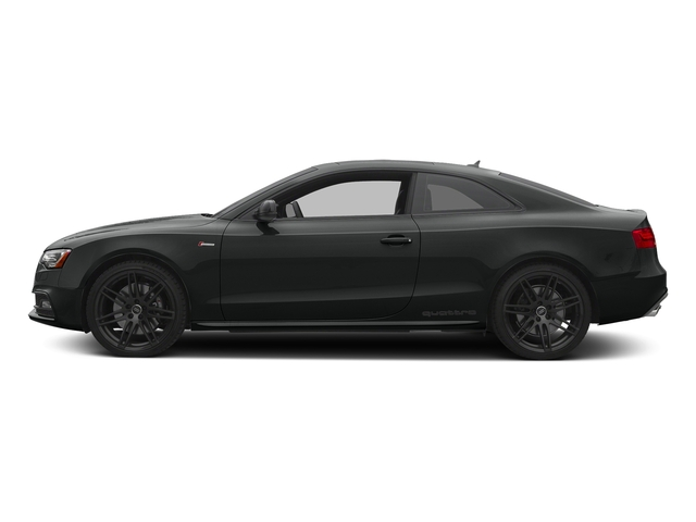 Mythos Black Metallic 2017 Audi S5 Coupe Pictures S5 Coupe 3.0 TFSI S Tronic photos side view