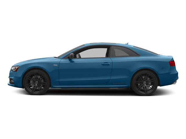 Sepang Blue Pearl Effect 2017 Audi S5 Coupe Pictures S5 Coupe 3.0 TFSI S Tronic photos side view