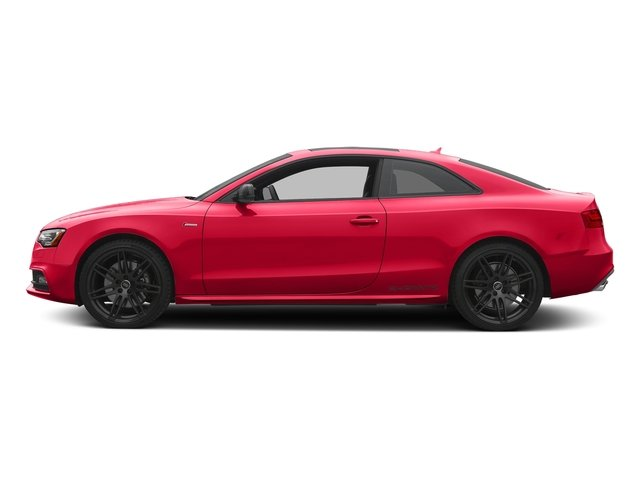 Misano Red Pearl Effect 2017 Audi S5 Coupe Pictures S5 Coupe 3.0 TFSI S Tronic photos side view