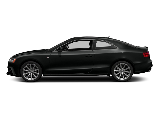 Mythos Black Metallic 2017 Audi A5 Coupe Pictures A5 Coupe 2.0 TFSI Sport Tiptronic photos side view