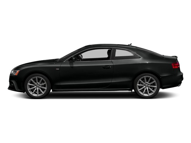 Mythos Black Metallic 2017 Audi A5 Coupe Pictures A5 Coupe 2.0 TFSI Sport Manual photos side view