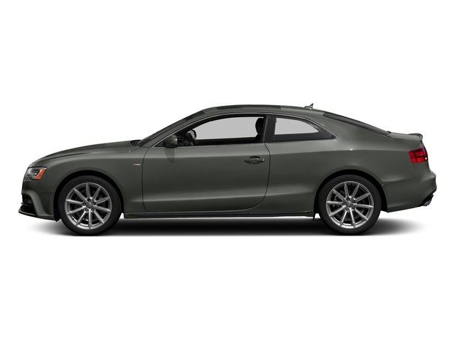 Daytona Gray Pearl Effect 2017 Audi A5 Coupe Pictures A5 Coupe 2.0 TFSI Sport Tiptronic photos side view