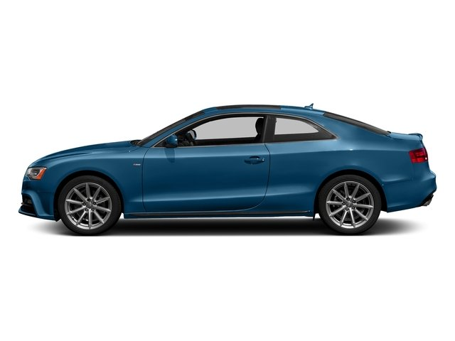 Sepang Blue Pearl Effect 2017 Audi A5 Coupe Pictures A5 Coupe 2.0 TFSI Sport Manual photos side view