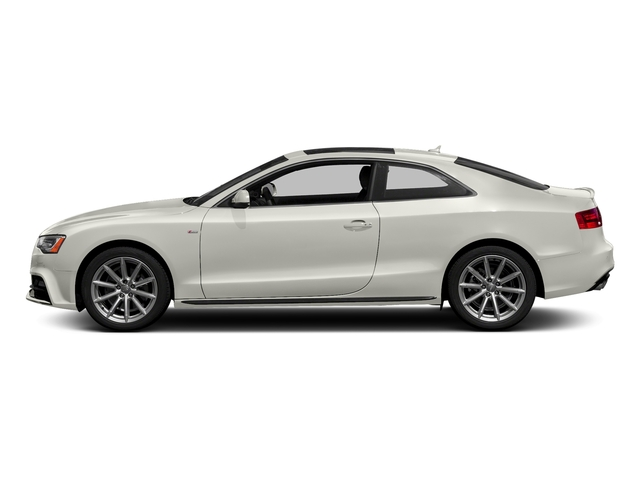 Ibis White 2017 Audi A5 Coupe Pictures A5 Coupe 2.0 TFSI Sport Manual photos side view