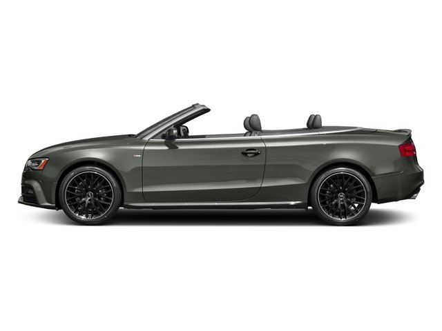 Daytona Gray Pearl Effect/Black Roof 2017 Audi A5 Cabriolet Pictures A5 Cabriolet Convertible 2D Sport AWD photos side view